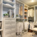 Custom Walk In Bedroom Closet
