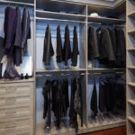 Walk-In Closet With Racks