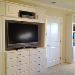 Custom Bedroom Wall Unit