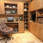 Custom Home Office with Storage Space