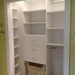 Kids Closet with Drawers and Basket
