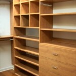 Master Closet With Sweater Cubbies