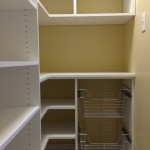 Pantry with Slide-Out Baskets