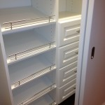 Custom Shoe Shelves for Closets