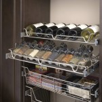 Spice Storage and Wine Racks