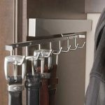 Deluxe belt racks for bedroom closets