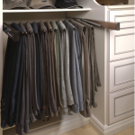 Slide Out Pants Hanger for Closets