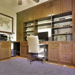 Custom Home Office Desk and Storage