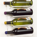 Wall Mounted Acrylic Wine Rack