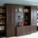 custom wall unit, custom built ins, custom storage,