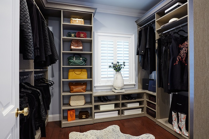 Customized Closet Storage