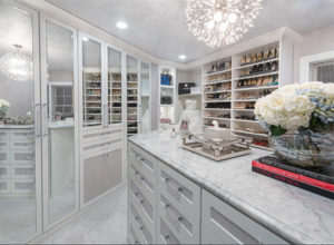 His and Hers Master walk-in closet