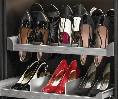 shoe rack, shoe storage, organized shoes