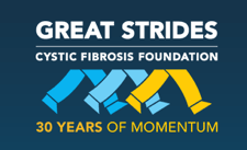 Great Strides logo Cystic Fibrosis Foundation