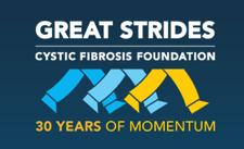 Great Strides logo Cystic Fibrosis Foundation