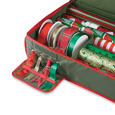 christmas decorations holiday gift wrap organization