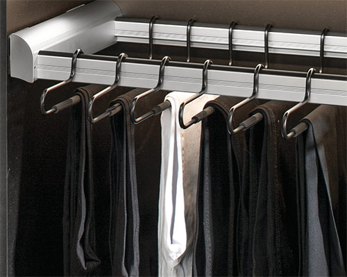 pull out rack, pull out hangers, pant hanger