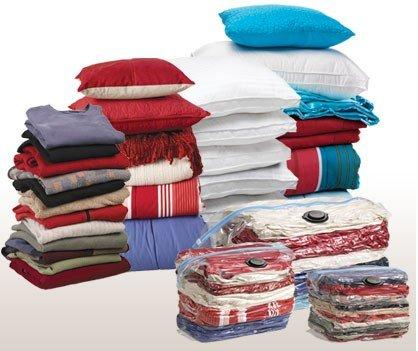 Storage Organization Vacuum Quilts off season clothing pillows