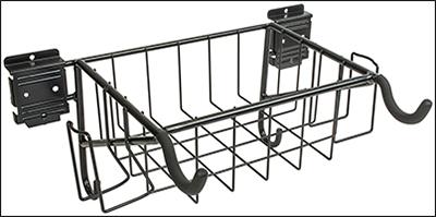 Symmetry Garages: Horizontal Bike Hook