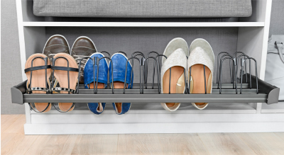 Symmetry Closets: Engage Shoe Organizer