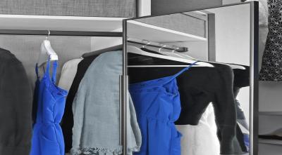 Symmetry Closets: Elite Full Rotation Mirror